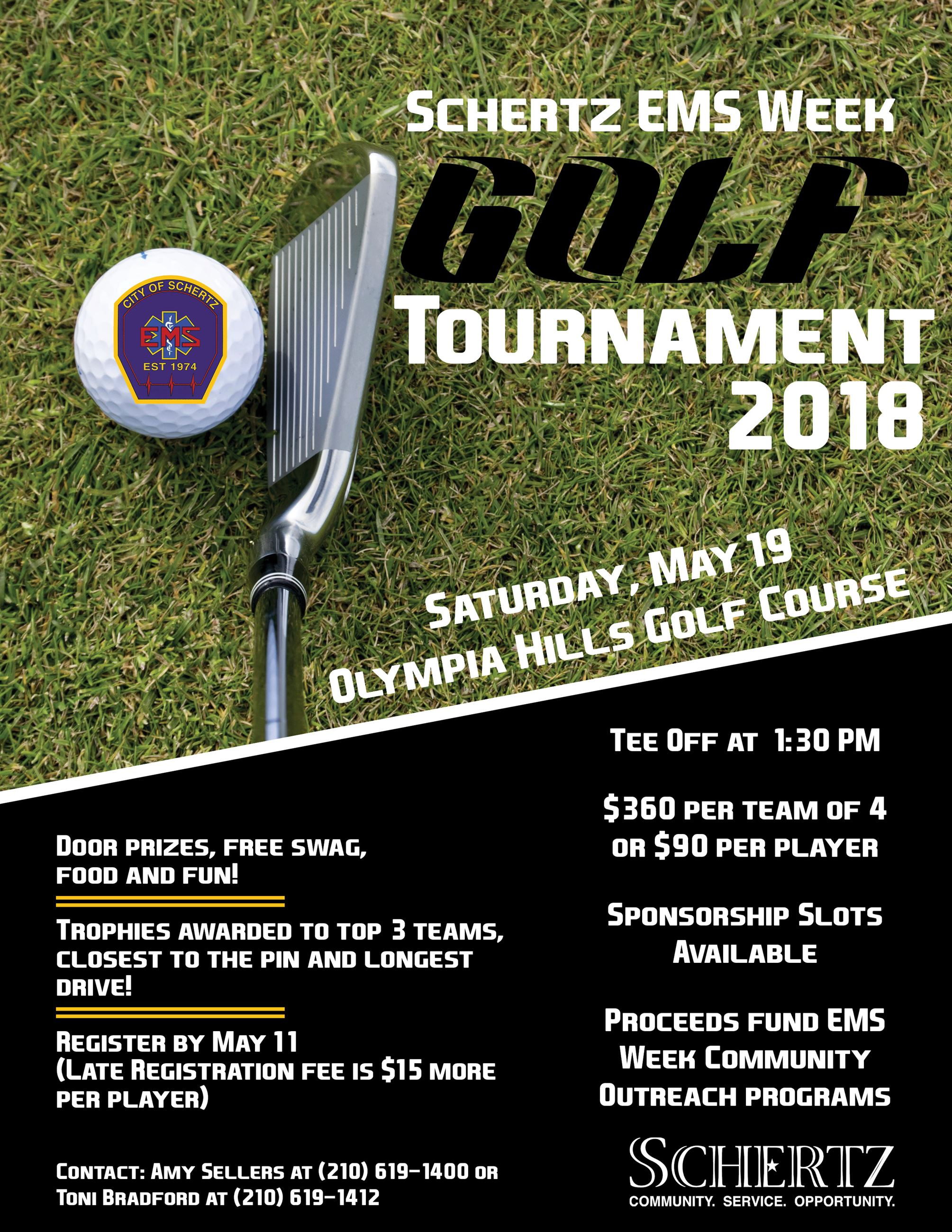 Flyer - EMS Golf Tournament