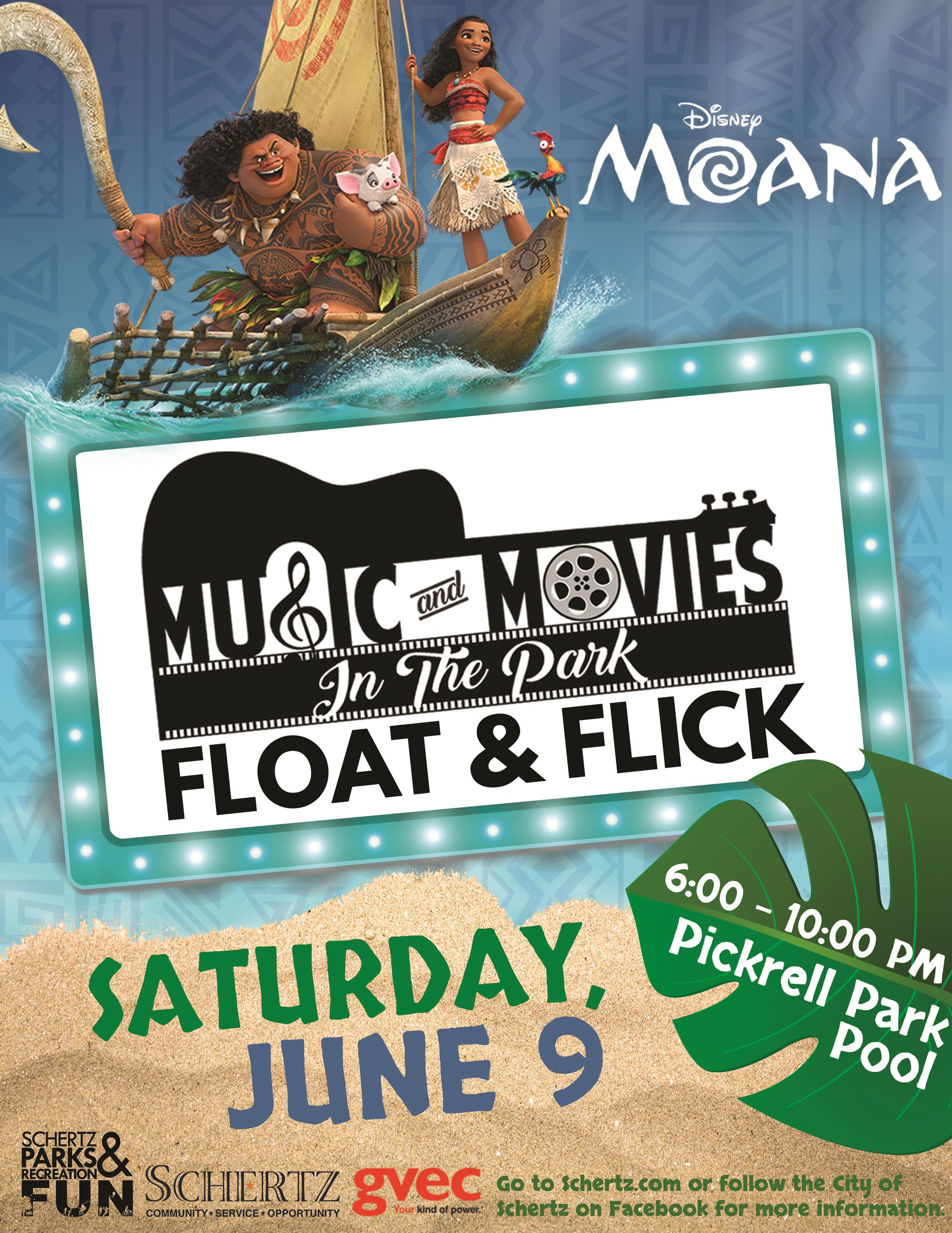 Music in the Park - Moana