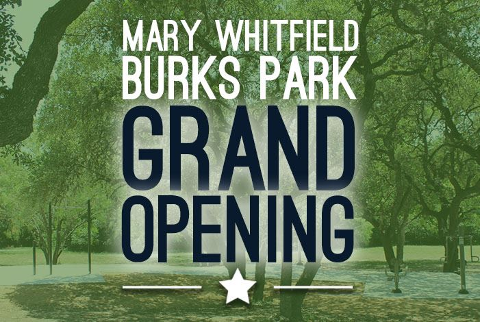 Mary Burks Park Grand Opening Web