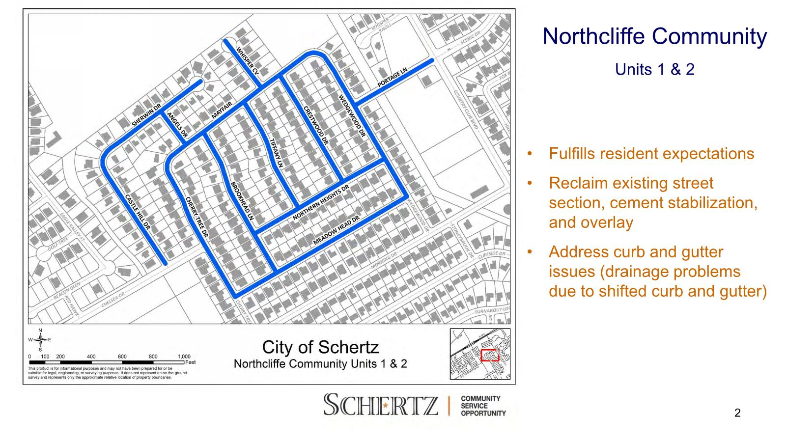 Northcliffe Community Map