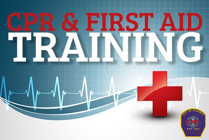 EMS CPR First Aid Training Graphic