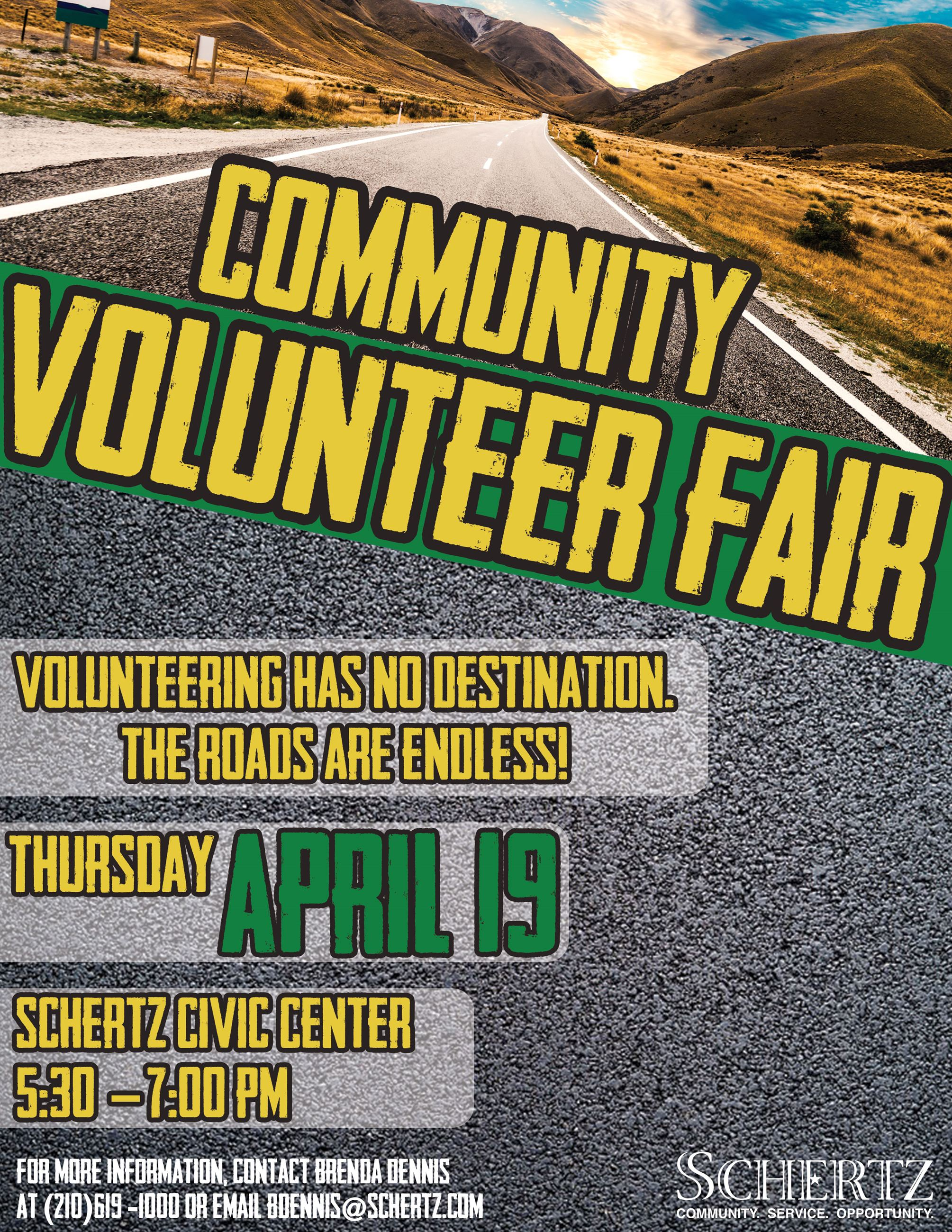 Community Volunteer Fair
