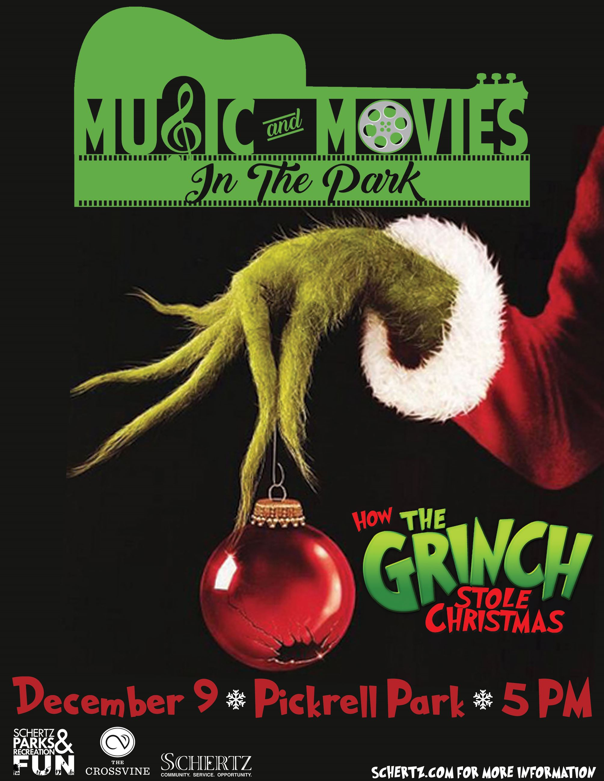 Movie in the Park-The Grinch