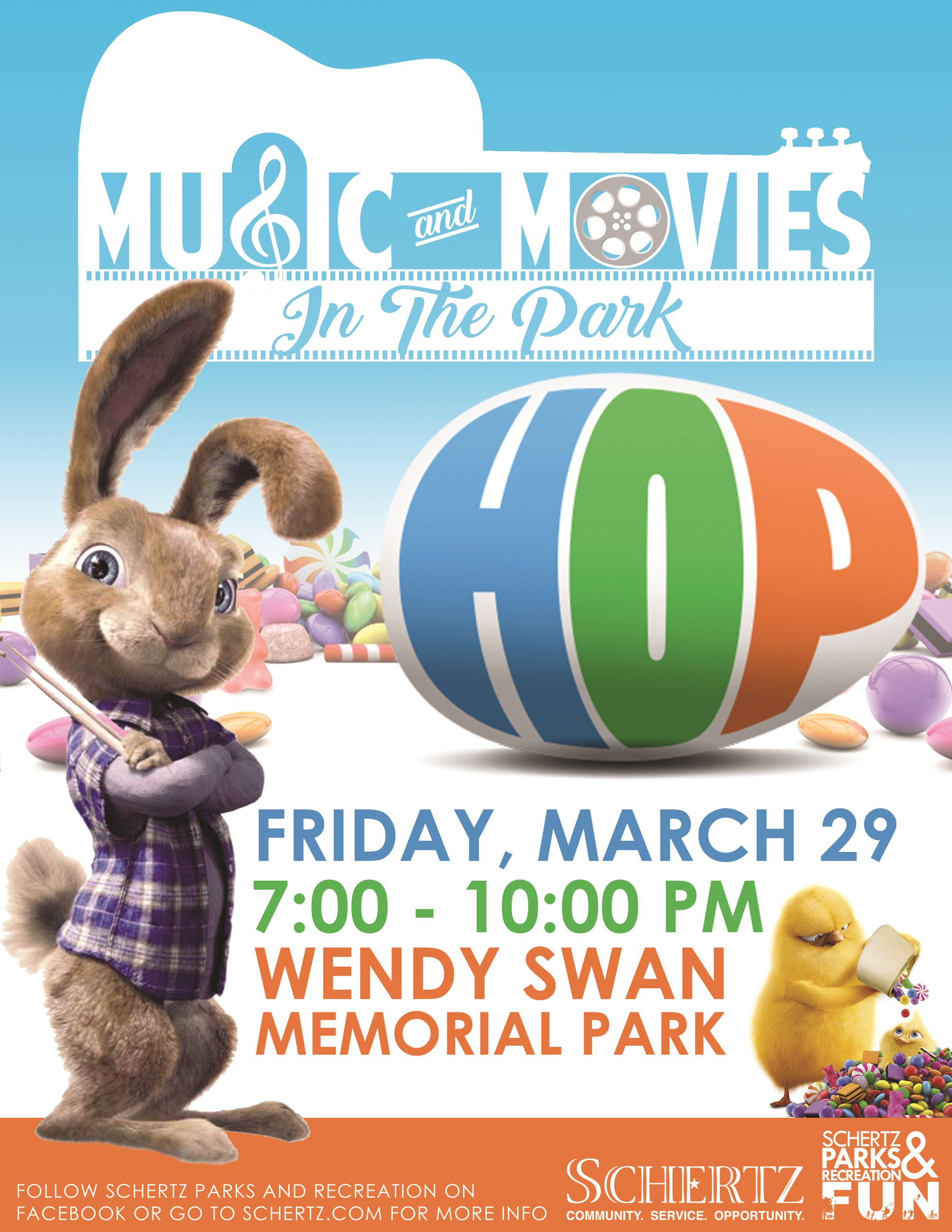 HOP Movie in the Park