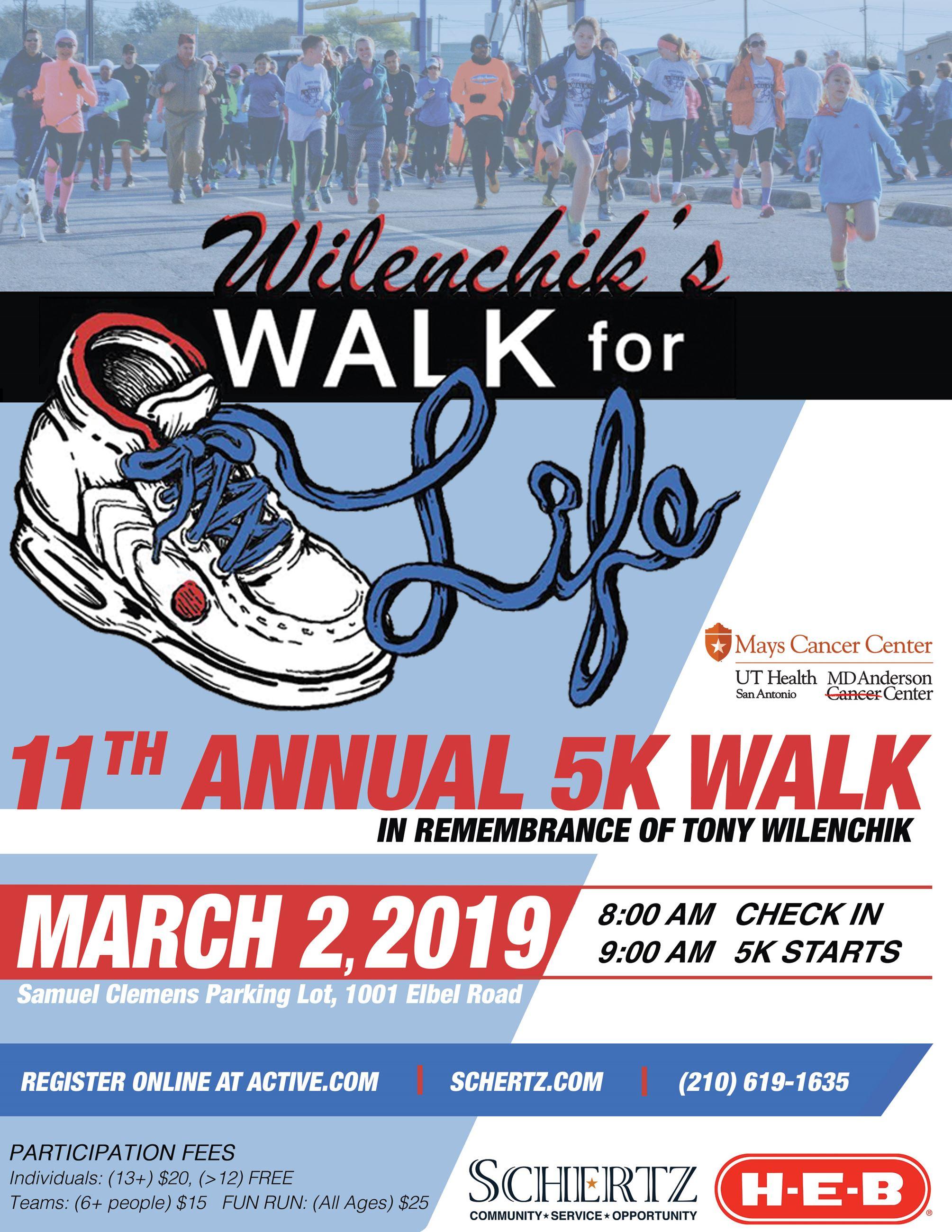 Wilenchik's Walk for Life | Schertz, TX