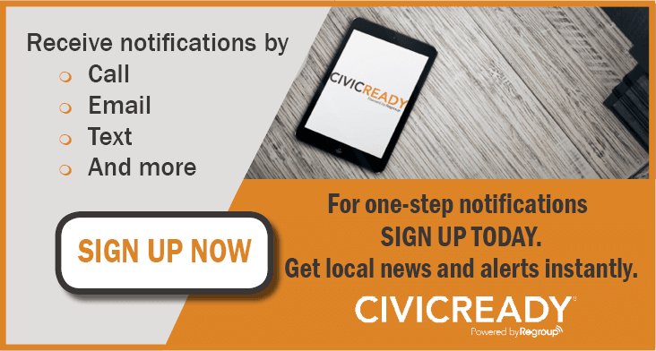 SignUp for CivicReady