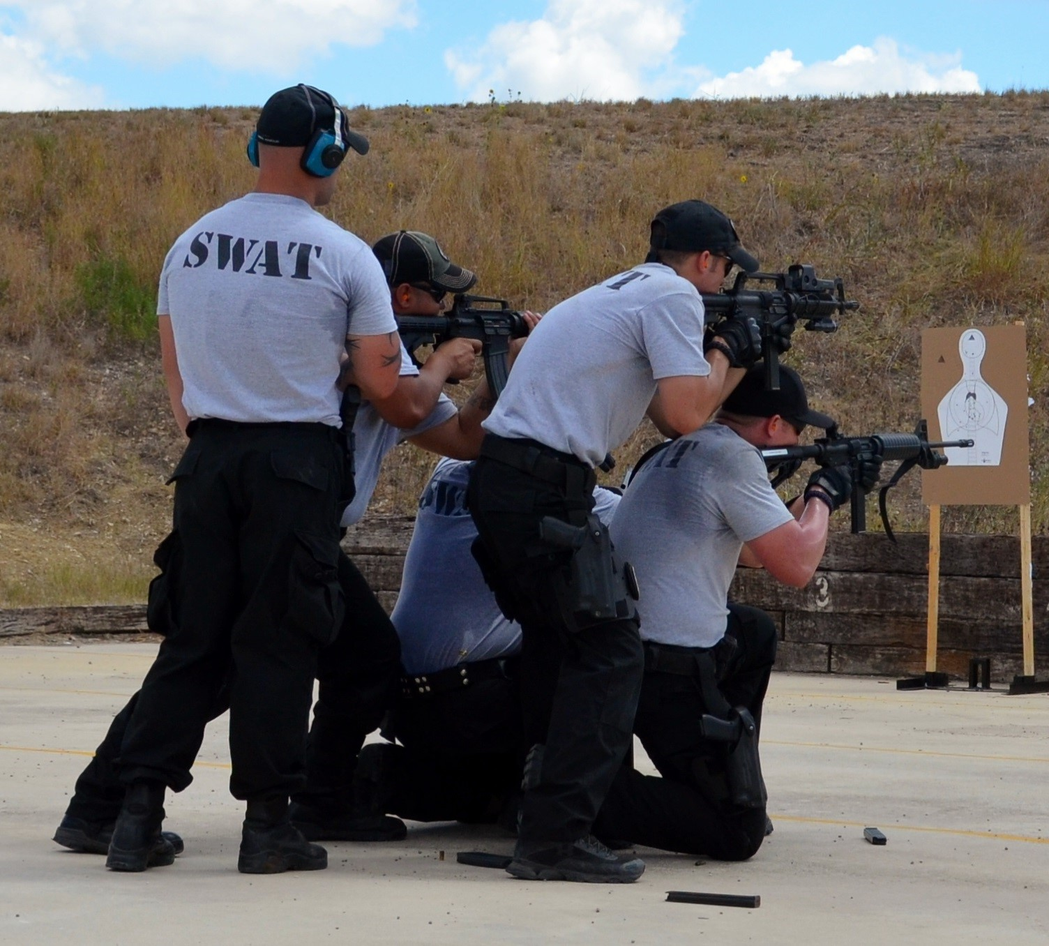 SWAT Members Training